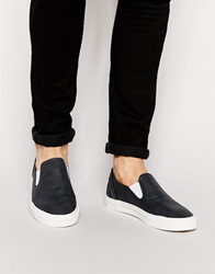 New Look Dulwich Slip On Navy