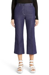 Msgm Women's Crop Flare Jeans