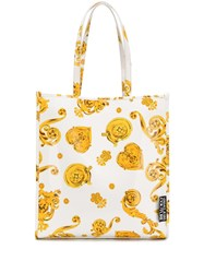 Versace Jeans Couture Barocco Print Tote Bag 60