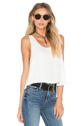 L'academie The Swing Tank Blouse Ivory