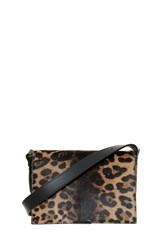 Victoria Beckham Mini Leopard Shoulder Bag Multi
