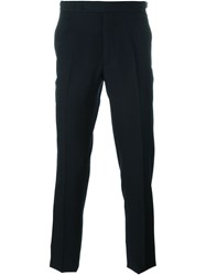 Christian Dior Dior Homme Tailored Trousers Blue