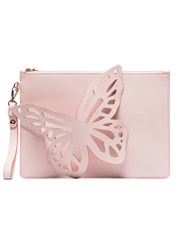 Sophia Webster Flossy Butterfly Clutch Bag Pink And Purple