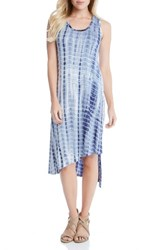 Karen Kane Women's Stevie Print Jersey Asymmetrical Tank Dress