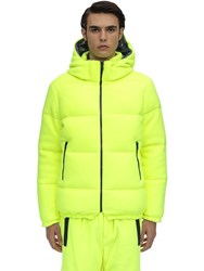 Lc23 Polartec Reversible Down Jacket Yellow