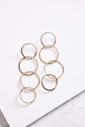 Urban Outfitters London Statement Earring Gold
