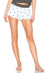 Wildfox Couture Falling Hearts Bottom White