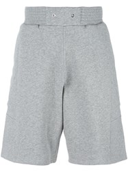Givenchy Star Patch Bermuda Shorts Grey