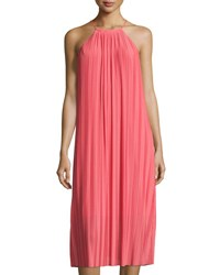 Cynthia Steffe Quinn Pleated Midi Dress Pink
