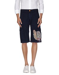 Tortuga Trousers Bermuda Shorts Men Dark Blue