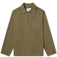 Mhl By Margaret Howell Mhl. Track Top Green