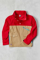 Chums Mountain Anorak Jacket Red