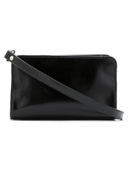 Uma Raquel Davidowicz Leather Gato Bag Black