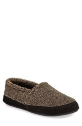 Acorn Men's Moc Slipper Earth Tex Brown
