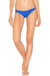 Trina Turk Brazilian Hipster Bottom Blue