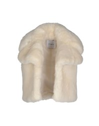Ainea Coats And Jackets Faux Furs Women Ivory