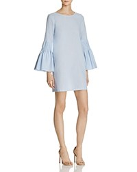 Aqua Smocked Bell Sleeve Shift Dress 100 Exclusive Blue