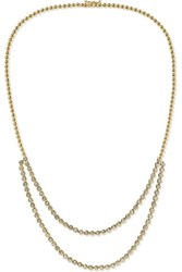 Jennifer Meyer 18 Karat Gold Diamond Necklace