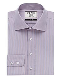 Thomas Pink Chet Check Athletic Fit Dress Shirt Bloomingdale's Slim Fit Blue Pink