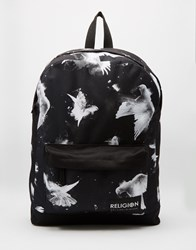 Religion Doves Backpack Black