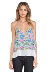 Lovers Friends Poppy Cami Green
