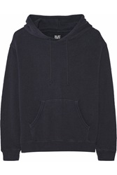 Nlst Cotton Jersey Hooded Top Blue