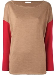 Societe Anonyme 'Funnel' Pullover Sweater Nude And Neutrals