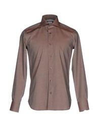 Borsa Shirts Light Brown