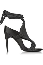 3.1 Phillip Lim Marquise Nubuck Sandals Gray