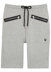 Markus Lupfer Grey Cotton Jersey Shorts