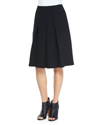 Vince Inverted Pleat A Line Skirt