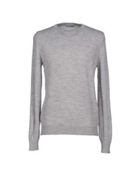 Lo Not Equal Sweaters Light Grey