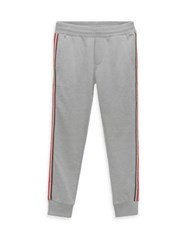 Moncler Little Boy's And Boy's Molleton Sweatpants Grey