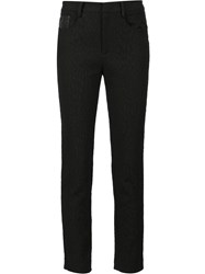 Zac Posen Cropped Trousers Black
