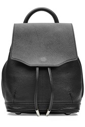 Rag And Bone Small Leather Backpack Black