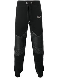 Philipp Plein Never Let It Go Track Pants Black