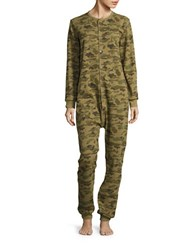 Drake General Store Thermal Camouflage Coverall Green
