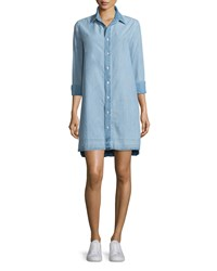 Rag And Bone Beau Button Front Denim Shirtdress Kenton Women's