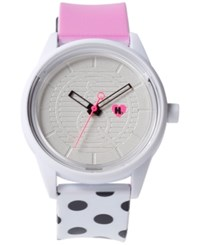 Harajuku Lovers Unisex Solar Limited Edition Pop Of Color Strap Watch 40Mm Hl2108