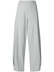 Humanoid Wide Leg Trousers Grey