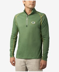 Tommy Bahama Men's Green Bay Packers Double Eagle Half Zip Sweater