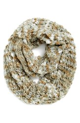Women's Renee's Accessories Marled Chunky Knit Infinity Scarf Beige Neutral Mix
