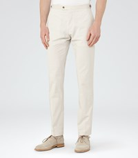 Reiss Sucrose Mens Tailored Trousers In Brown