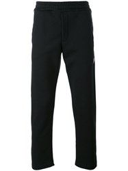 Alexander Mcqueen Classic Track Pants Men Cotton Xs Black