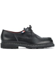 Paraboot Lace Up Loafers Black