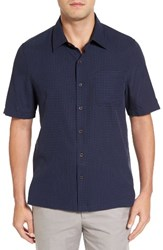 Nat Nast Men's Julep Regular Fit Silk And Cotton Sport Shirt