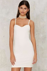 Sweetheart Major Mini Dress White