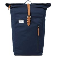 Sandqvist Dante Rolltop Backpack Blue