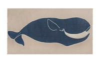 Thomas Paul Baleen Scarf Blue White