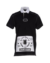 Love Moschino Topwear Polo Shirts Men Black